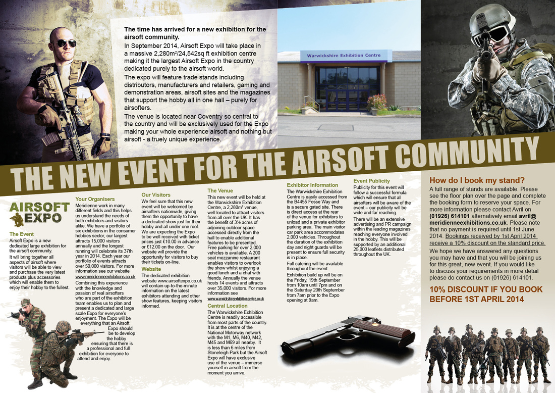 Airsoft Expo Stand Prospectus