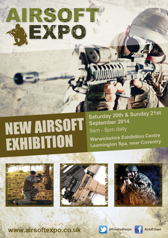 Airsoft Expo leaflet